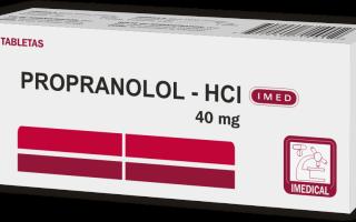 hipertenzijos gydymas propranololis