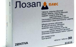 lozap plus nuo hipertenzijos)
